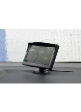 "5"" TFT LCD HD Car Monitor 800 x 480 Resolution 2CH Video Input For DVD Player Rear View Camera"