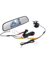 """4.3"""" Screen TFT LCD Car Rear View Rearview Mirror Monitor + Backup Camera"""