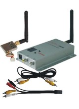 CCTV 8CH 200mW 2.4G Wireless AV Transmitter and Receiver Kit for Security Camera Model Airplane