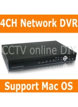 4CH Video&Audio input H.264 Security CCTV Network Digital Video Recorder Support Mac PC Mobile Phone View