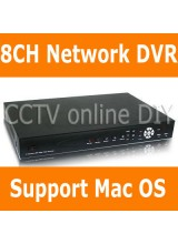 8CH Video&Audio input H.264 Realtime Security CCTV Network Digital Video Recorder Support Mac PC Mobile Phone View