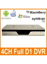 4CH Full D1 Surveillance Security CCTV DVR Digital Video Recorder Support Network 3G Mobile Phone View