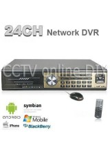 24Channel Realtime H.264 Security CCTV DVR Surveillance IE Mobile PhoneView 16CH Alarm input Support up to 8TB HDD