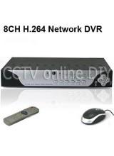 8CH Audio Video CCTV H.264 Surveillance Security DVR System IE Mobile Phone Access PTZ Control 8CH Alarm input