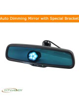 Car Rear View Rearview Interior Auto Dimming Mirror with Special Bracket