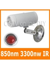 3300mw 850nm Wavelength IR Array Illuminator Lighting for Security CCTV Camera