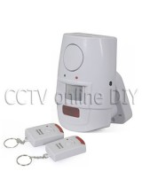 Home PIR Motion Sensor Burglar Alarm System with Remote Control