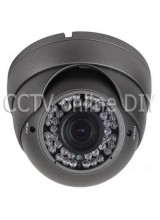 "Security CCTV 1/3"" SONY Super HAD II CCD 700TVL 2.8-12mm Zoom Lens 42 IR Leds Dome Camera With OSD Menu"