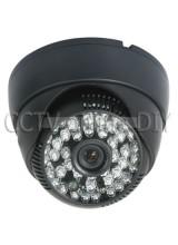 "700TVL CCTV Dome Camra 1/3"" SONY SUPER HAD II CCD 3.6mm lens 48pcs IR Led Day&Night with OSD Menu"