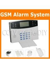 99 Zones GSM Wireless Home Security Burglar Alarm System Auto Dialer Talk