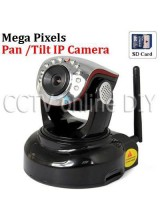 H.264 720p HD Security CCTV Pan and Tilt Mega Pixel Professional WIFI IP Camera Support Mobile Phone View SD Card