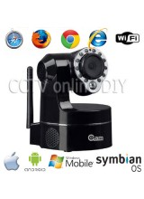 Home CCTV 3.6mm Day and Night Pan/Tilt Indoor Wireless Wifi IP IR Camera Support 3G Mobile View