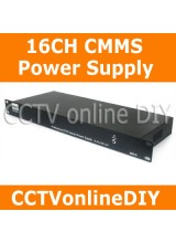 16CH Camera DC12V Mountable Professional CCTV CMMS Power Supply AC 220V+/-15% lnput