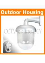 Brand New CCTV Outdoor Dome Housing Transparent Enclosure for IP Pan Tilt Camera