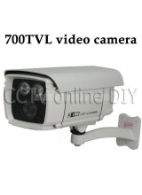 Security CCTV 700TVL Day and Night Camera 8mm lens 850nm Two Array IR LED Outdoor Waterproof SONY CCD