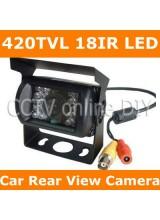 Car Vehicle Color Rear View Back up Camera 420TVL Sharp CCD 18IR LED Night Vision