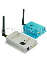 CCTV 12CH 2000mw 2.4G Wireless AV Transmitter and Receiver Kit for Security Camera Model Airplane