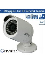 Security CCTV Full HD 720P POE IP Camera 18IR Leds Day and Night Weatherproof Mobile Phone Access Onvif 2.0