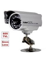 CCTV Security Surveillance 600TVL 6mm Lens 24 Leds Night Vision Outdoor Weatherproof IR CCD Camera