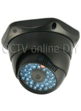 1/4 inch Sharp CCD 420TVL CCTV 42IR LED Night Vision Surveillance Security Dome Camera