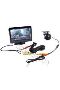 "4.3"" Screen TFT LCD Car Rear View Rearview Monitor + Backup Camera Kits"