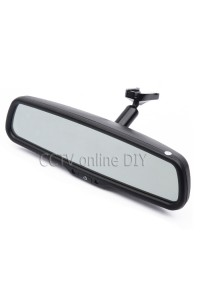 "4.3"" TFT LCD Car Rear View Rearview Mirror Monitor with Special Bracket 800*480 Resolution 2CH Video Input"