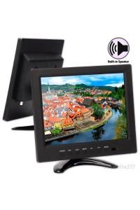 9.7 inch 4:3 TFT Color HD LCD CCTV Monitor with BNC VGA HDMI AV input 1024*768 Resolution