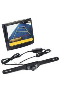 2.4G Wireless Car Rear view Back Up Camera System Wide Angle Night Vision with 3.5 inch TFT LCD Monitor
